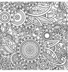 Ethnic seamless pattern vector