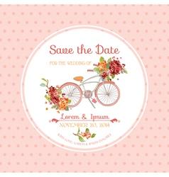 Invitation or Congratulation Card - for Wedding vector