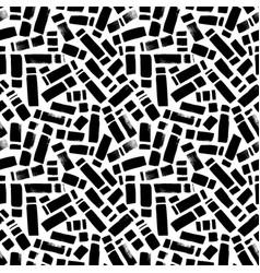 Irregular rectangle brush strokes pattern vector