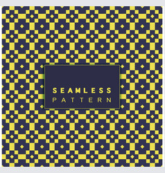 seamless mosaic thai pattern and repeating vector image