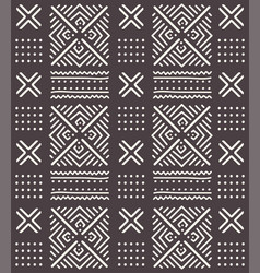 Tribal seamless ornament african abstract vector