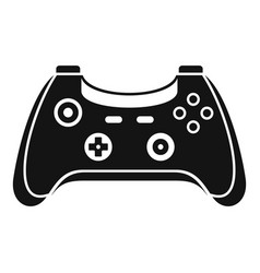 wireless gamepad icon simple style vector image