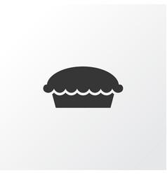 apple pie icon symbol premium quality isolated vector image