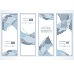 empty frames with abstraction vector image vector image