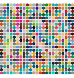 Background with colored circle vector image