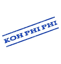 Koh Phi Phi Watermark Stamp vector