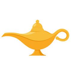 Lamp aladdin magic icon aladin genie vector