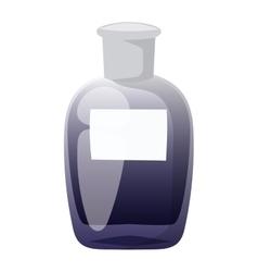 Perfume bottle template vector image