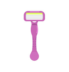 womens shaving razor icon vector image