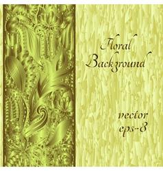 Ethnic ornament invitation card vector image