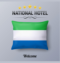 national hotel vector image vector image