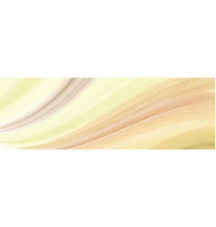 Abstract horizontal background with yellow vector