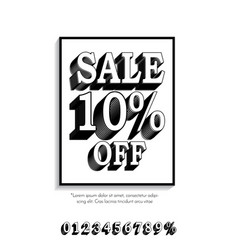 Clean classic style sale banner template flat vector