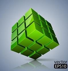 Cube 3D vector