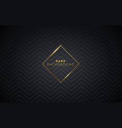 dark premium background with luxury pattern vector image