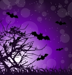 Dark Scary Background vector image