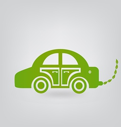 ecologic car vector image