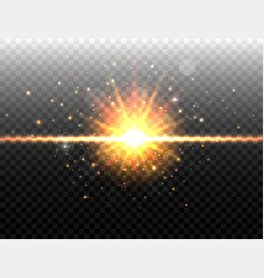 Explosion concept isolated on black transparent vector