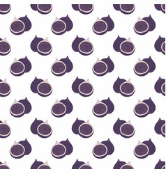 Fig decorative seamless pattern vector