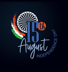 independence day black vector image