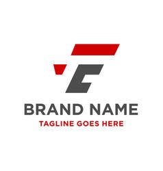 Initial logo fc vector