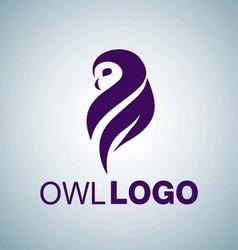 OWL LOGO 2 vector image