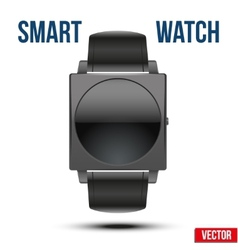 Smart design example wrist watch vector image