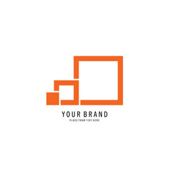 truck icon logo vector image