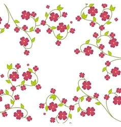 Flowers and floral design vector image vector image