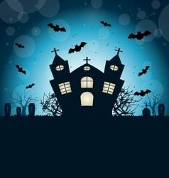 Halloween abstract background vector