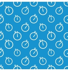 Stopwatch icon pattern vector image vector image