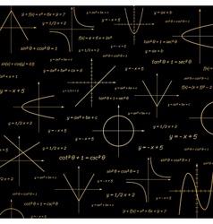 Abstract math vector image vector image
