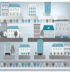 02 Europe City landscape vector image