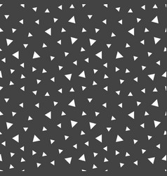 abstract doodle triangles seamless pattern vector image