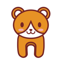 cartoon bear animal image vector image