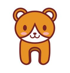 cartoon bear animal image vector image