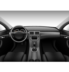 Dashboard - car interior vector
