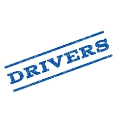 Drivers Watermark Stamp vector