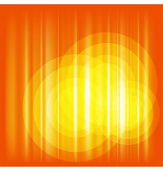 Orange Background with circle vector