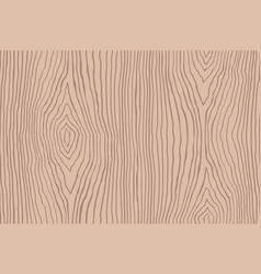 Seamless pattern of brown wooden texture vector