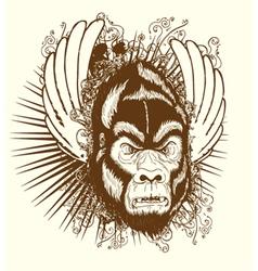 Vintage tshirt design vector