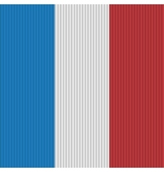 France flag background vector image