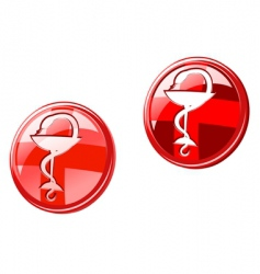 medicine icons and signs vector image