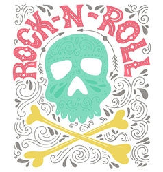 Rock-n-roll poster vector