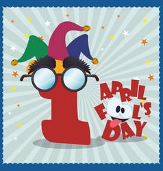 april fools day celebration image vector image vector image