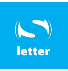 logo letter S vector image vector image