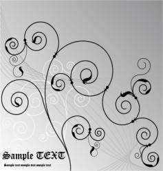 ornate vector image vector image
