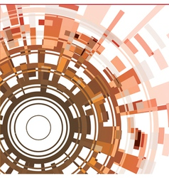 Abstract cirle background vector image