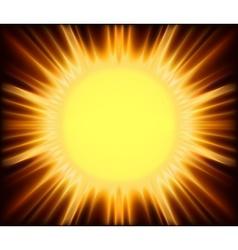 Abstract sunshine vector