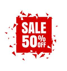 big sale poster banner big sale clearance vector image